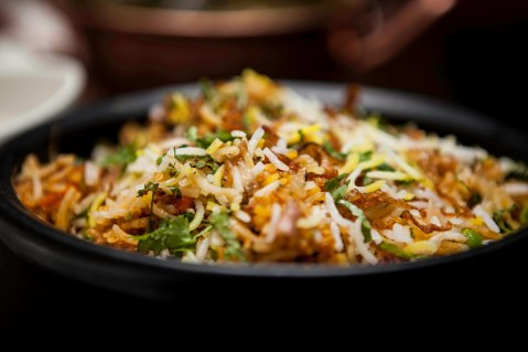 SHAHI SABZ BIRYANI - VEGETABLE BRIYANI — at Khansama Restaurant, Chennai